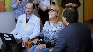 Blind Mother Sees Son for First Time in 20 Years with Bionic Eye