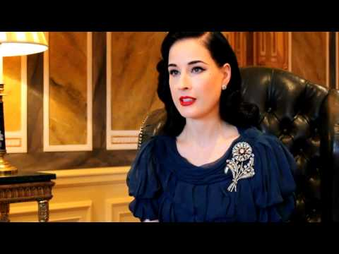 Dita Von Teese shares her burlesque tips
