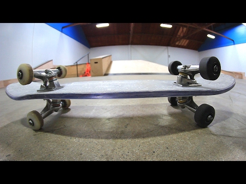 BULLET PROOF GLASS BOARD DOUBLE SIDED TRUCKS | STUPID SKATE EP 84