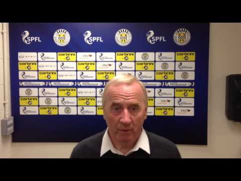 Tommy Craig * Preview * Partick Thistle v St Mirren * 18/09/2014