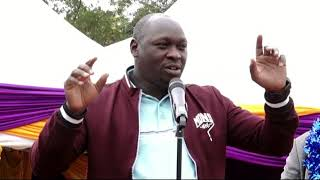 JOSHUA KUTUNY says they will drug RAILA to sleep as they eat after 2022. MUTUA will be deputy PM