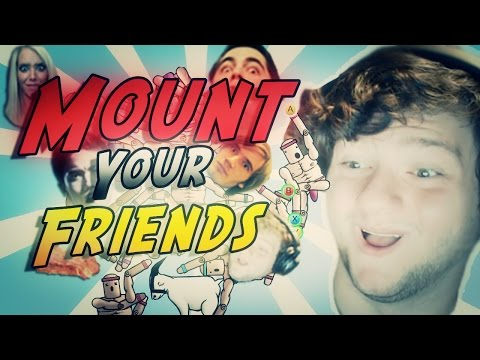 Mount Your Friends : YOUTUBERS IN THONGS!