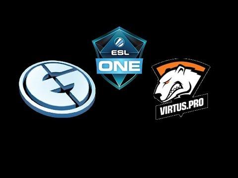 EG vs VP  ESL One Katowice 2018 powered by Intel Highlights Dota 2