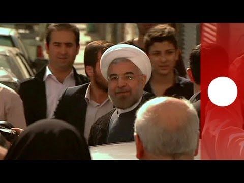 Iranians celebrate Rouhani's win, 'a victory for moderation'