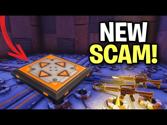 NEW SCAM The Jump Pad Trap Scam! Scammer Get Scammed Fortnite Save The World