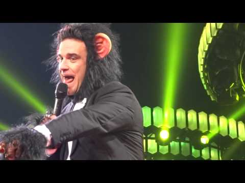 Robbie Williams - I Wanna Be Like You (FRONT ROW) - 23-Sept-14 Brisbane HD