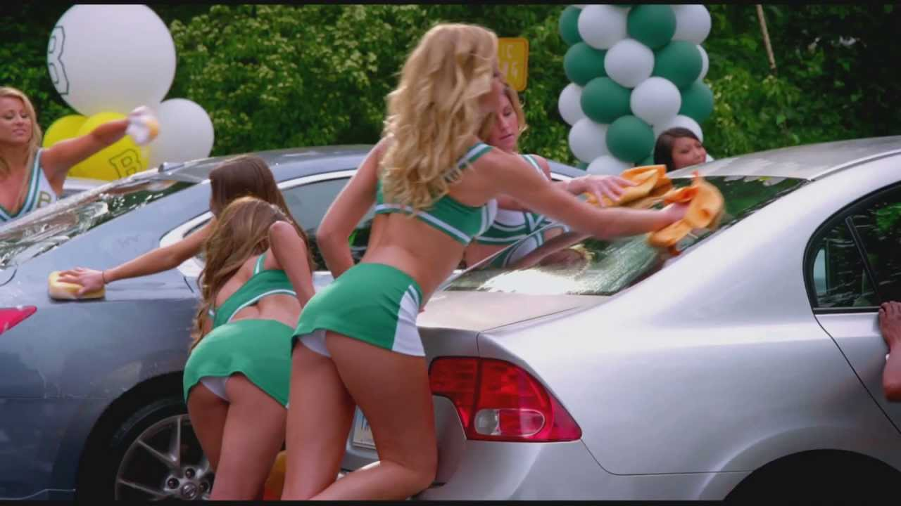 Sexy carwash in Grown Ups 2 ! - YouTube