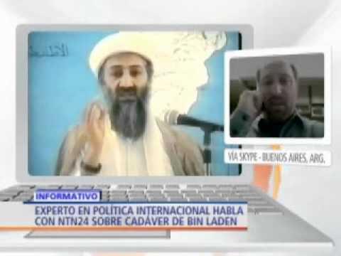 Julián Schvindlerman, experto en política internacional, habla sobre muerte de Bin Laden - NTN24