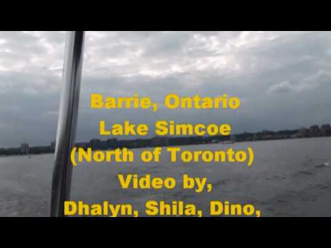 Barrie, ON Lake Simcoe North of Toronto 2010 (2of2 parts)