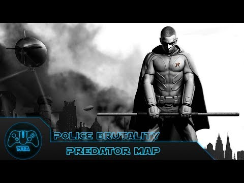 Batman Arkham City - Police Brutality - As Robin - Predator map 2 - 58.05
