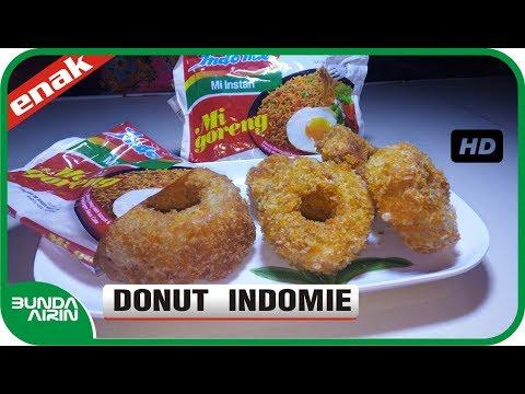 CARA MEMBUAT DONAT INDOMIE GORENG Donut Enak - Resep Masakan Indonesia - Bunda Airin