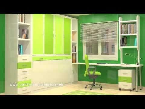 Camas verticales camas horizontales camas abatibles de - Merkamueble armarios dormitorio ...