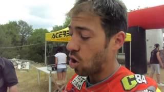 Sardegna Rally Race 2015: Maurizio Gerini al bivacco di Sa Itria