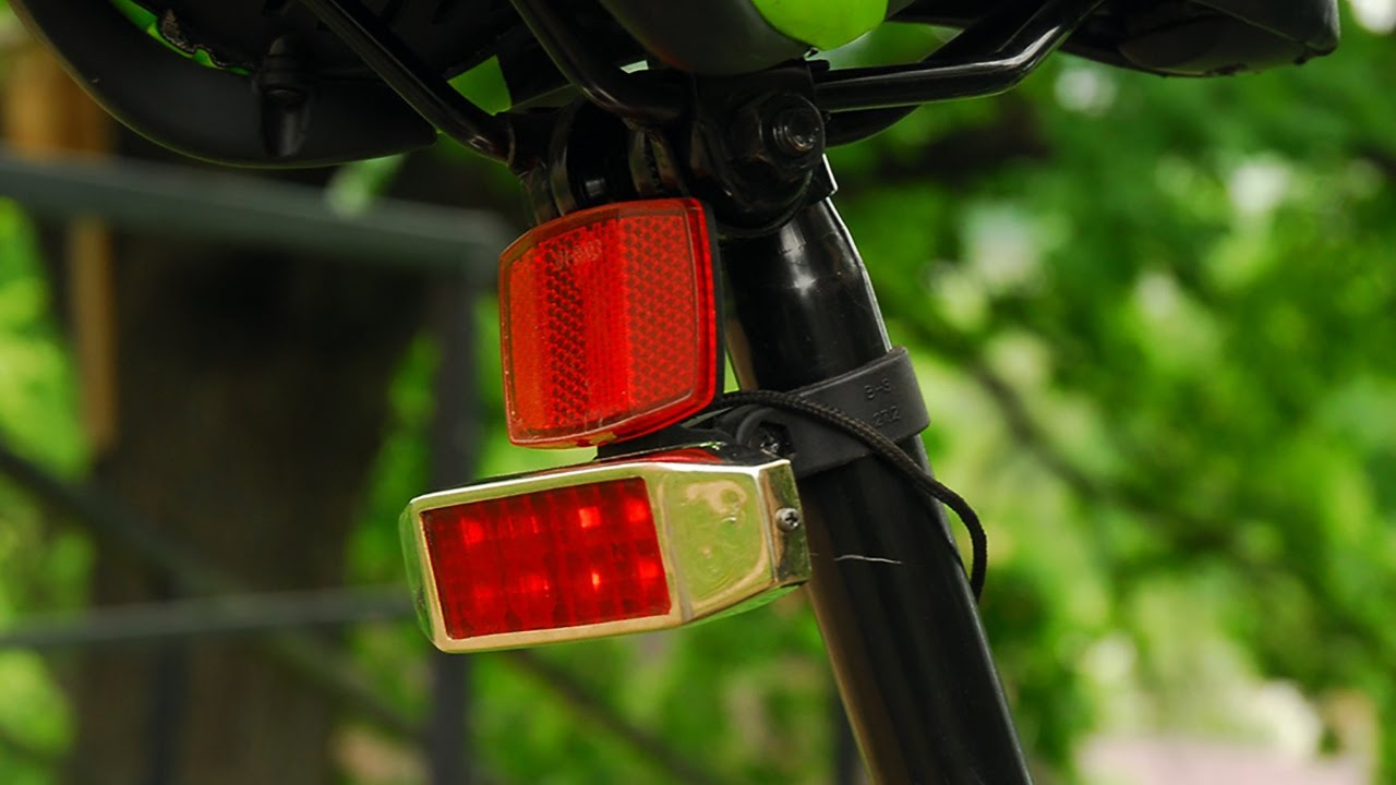 Стоп сигнал на велосипеде своими руками 627