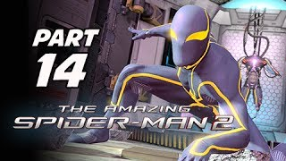 The Amazing Spider-Man 2 Walkthrough Part 14 - Spider-Armour Costume (PS4 1080p Gameplay)