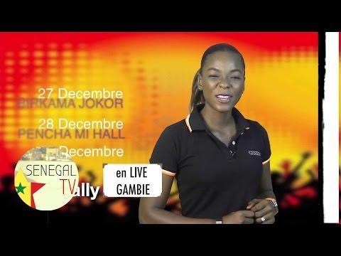 Wally ballago seck en concert live en Gambie
