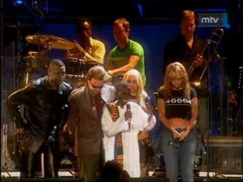 Queen, Dave Stewart, Bono Vox, Anastacia, Youssou N'Dour&Beyoncé - Amandla (46664 Cape Town 2003)