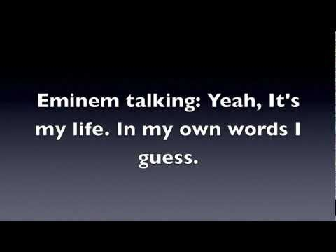 When I'm Gone- Eminem Lyrics video