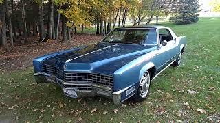 1967 Heated Seat Cadillac Eldorado  ..  Most rare Eldorado in the World !!!!!  SOLD !!