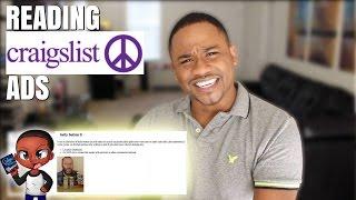 READING WEIRD CRAIGSLIST ADS | Alonzo Lerone