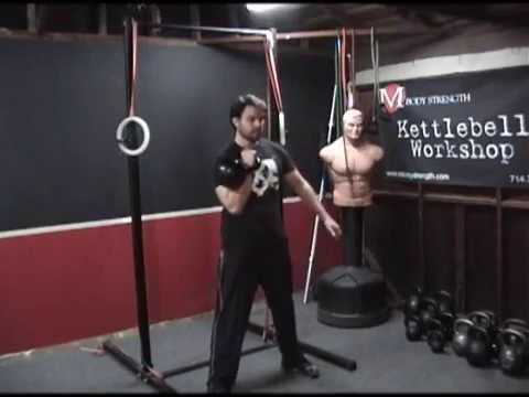 How to do the Kettlebell Clean and Press Image 1