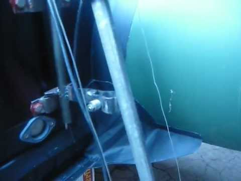 Крепление спиннинга в лодку пвх
