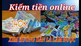 Kiếm Tiền 140k chỉ với 5 phút mỗi ngày   Bigcoin kiếm tiền online nhanh nhất