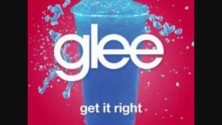 Watch Glee Cast Get It Right video