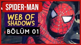 Spider-Man Web of Shadows - Bölüm 01 - Bir Venom Ağlıyor!