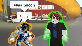 If someone calls Bacon Hairs Ugly, the video ends | Roblox Bloxburg