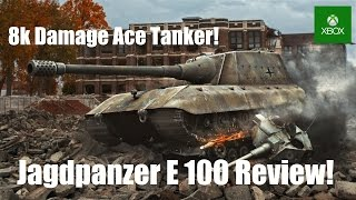 Jagdpanzer E 100 Quick Review! - World of Tanks Console ( Xbox / PS4 )