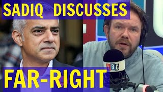 SADIQ Khan Discusses Right-Wing TERRORISM - LBC