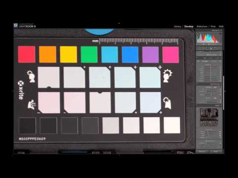 Using the ColorChecker Passport: Ep 209: Digital Photography 1 on 1 Music Videos