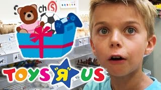 GEBURTSTAG SHOPPING TOUR 🎁 LEON im TOYS'R'US | Geburtstagskiste | Lulu & Leon - Family and Fun