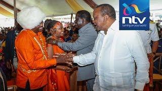 Uhuru and Raila's hilarious speeches at Anne Waiguru's wedding