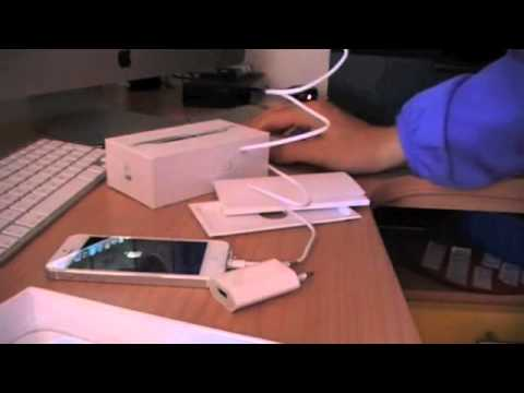 Apertura Apple IPHONE 5 32 gb Bianco
