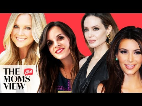 Pregnancy, Kim Kardashian, Angelina Jolie, and More! - The Mom's View LIVE
