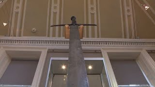 800 year old Scottish sword goes on public display
