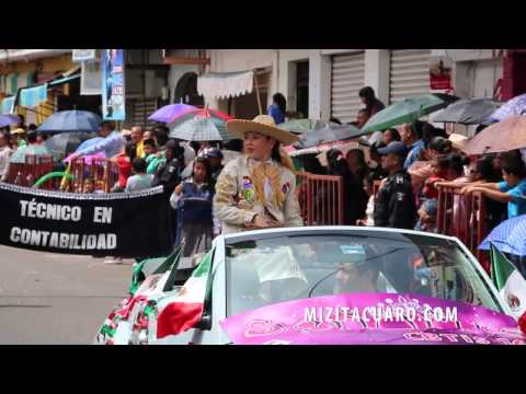 Desfile 16 de septiembre, Zitácuaro 2014