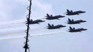 Blue Angels at Dayton Ohio 2010