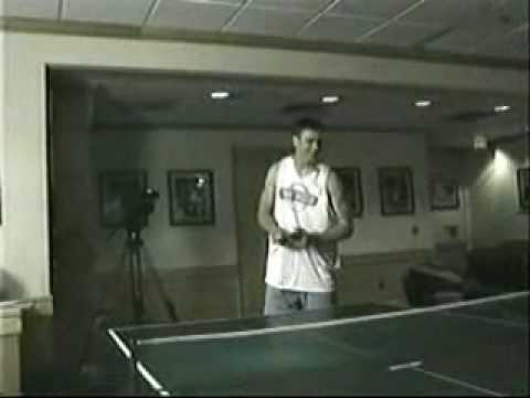 Tyler Hansbrough - Bobby Frasor Ping Pong Video
