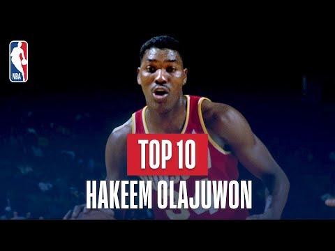 Top 10 Plays of Hakeem Olajuwon's Career