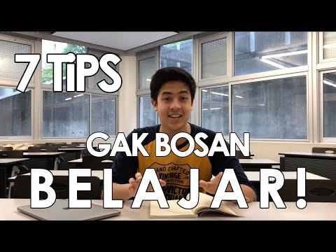 7 TIPS mengatasi BOSAN dalam BELAJAR EFEKTIF | Tips Jerome 1