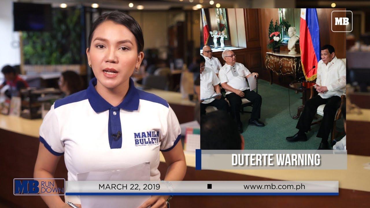 MB Rundown: 4th week of March 2019