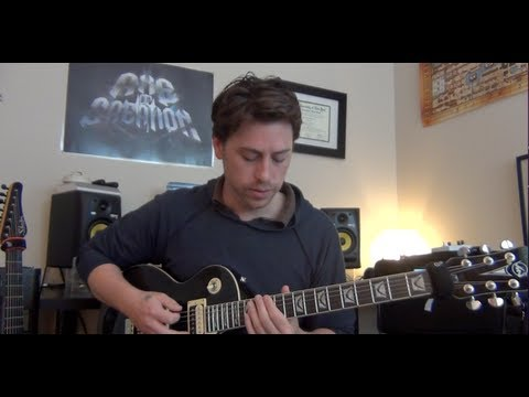 Axe of Creation-Tool The Grudge Guitar Lesson