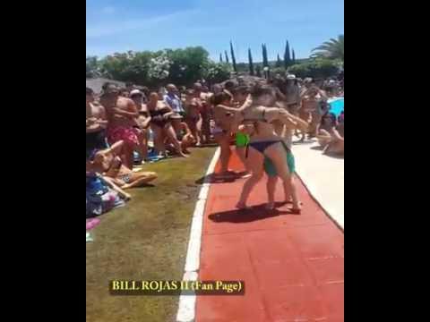رقص اطفال على المسبح رائع thumbnail