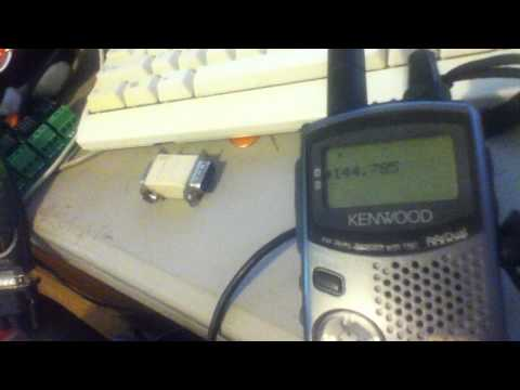 Control Kenwood TH-D7 with PHP & serial cable
