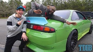 GIVING T-PAIN DRIFTING LESSONS!