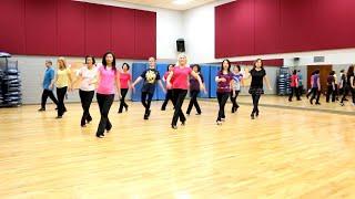Neon Church Line Dance Dance Teach In English 中文