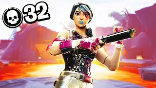 32 Kill Solo Squads On Controller | Season 8 Fortnite